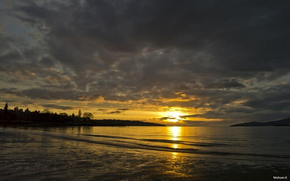 наш Ванкувер, Китсилано пляж, где посмотреть закат в Ванкувере