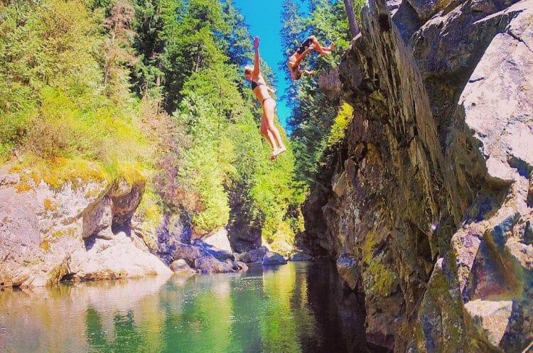 места для купания Ванкувер
