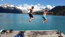 Озера Канады, Озера Ванкувера, озера Британской Колумбии, Озеро Гарибальди,Garibaldi Lake