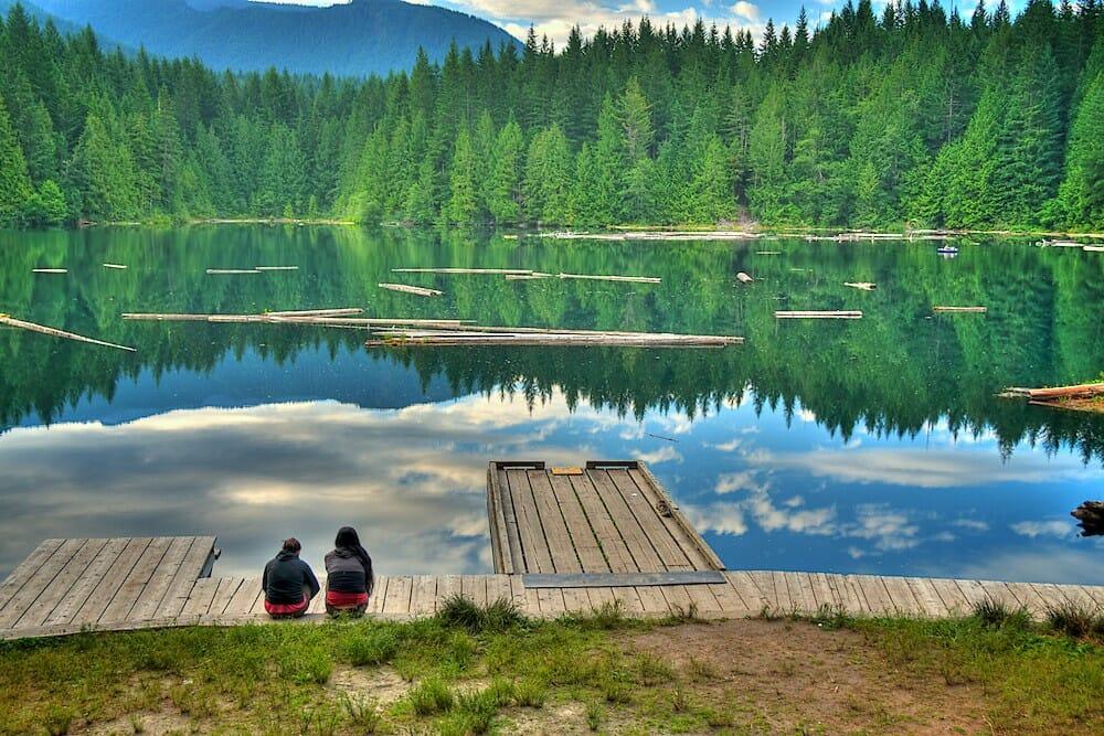ОЗЕРА вАНКУВЕРА, ОЗера Канады,Alice Lake. озера Британской Колумбии