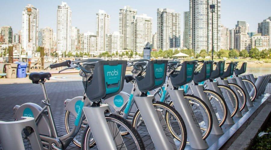 В Ванкувере запустили программу велопроката Mobi. Что нужно об этом знать
