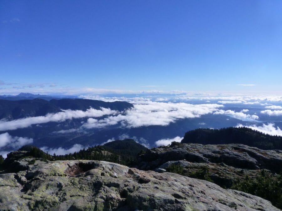 видео красоты горы Сеймур Британская Колумбия