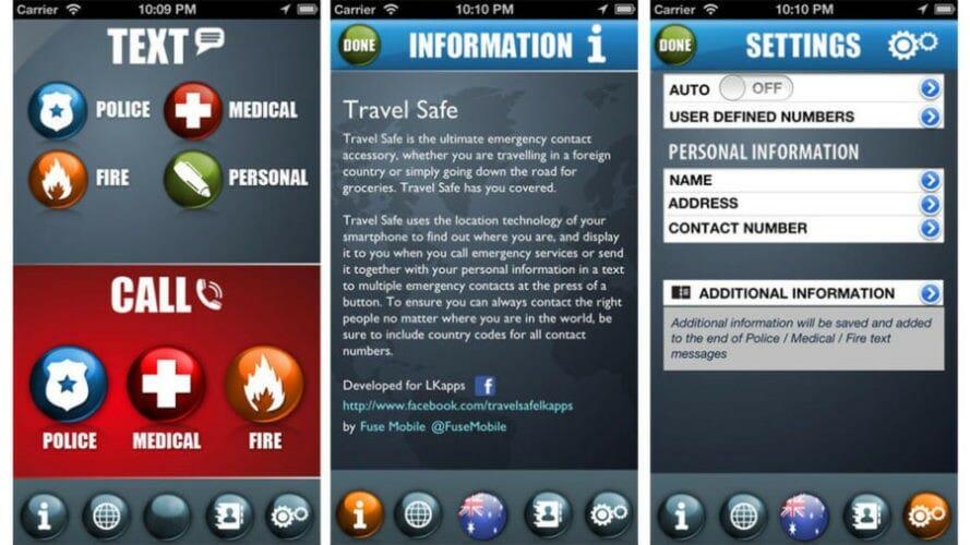 приложение для путешественников