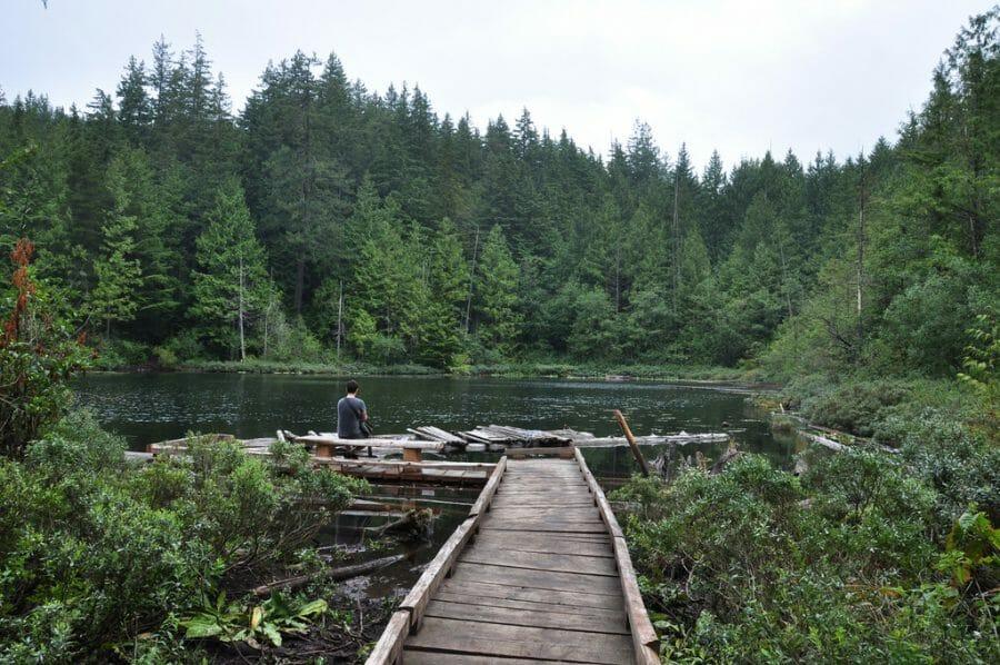 Whyte Lake, Озера Ванкувера, озера Канады. Где покупаться в Канаде?
