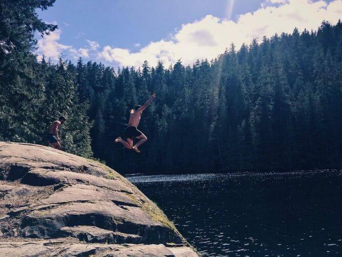 озера Ванкувера, где можно покупаться