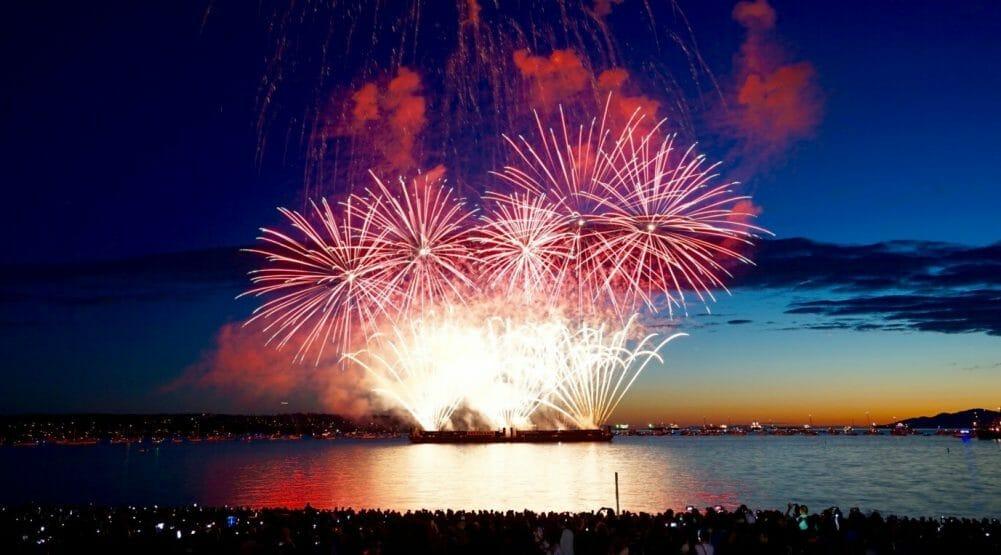 Team Netherlands' stunning Celebration of Light 2016 fireworks show