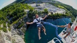 Лучшие места для банджи-джампинга в КанадеGreat Canadian Bungee/НашВанкувер