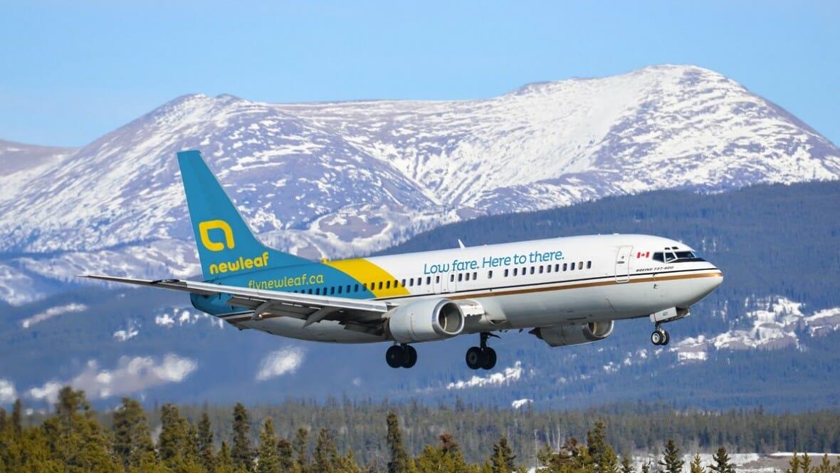 Новая авиакомпания начинает полеты в Канаде В понедельник компания NewLeaf приступила к перевозкам пассажиров внутри страны.