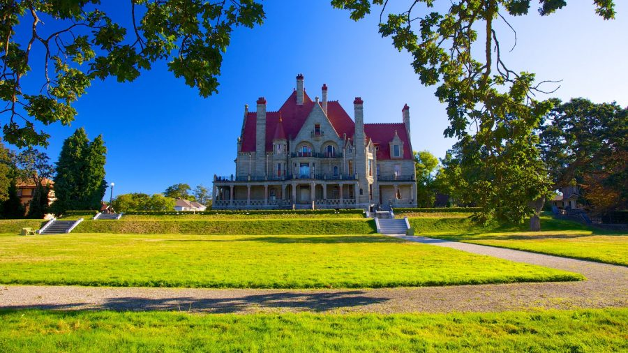 Craigdarroch Castle, замок В Канаде, замок в Виктории,