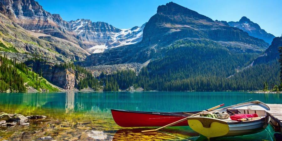 Canadian-Rockies, увидеть Канаду с воды, туризм в Канаде, озера Канады