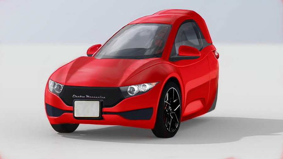 Ванкуверская фирма Electra Meccanica готова запустить в производство одноместный трёхколесный электрокар. Планируемая дата продаж – 9 сентября. Что же это за машина такая?