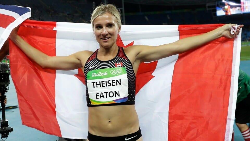 Итоги выступления сборной Канады на Олимпиаде в Рио. Брианн Тизен-Итон завоевала в олимпийском Рио бронзу для своей команды.