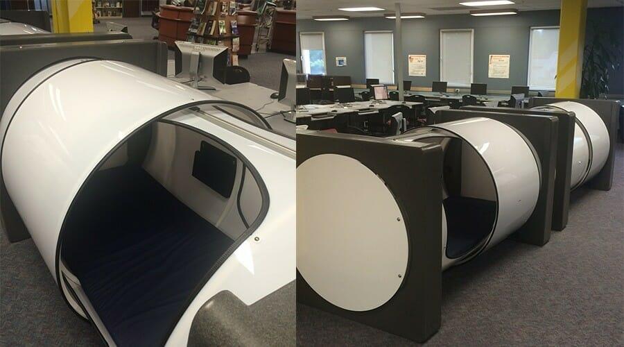 Студентов Технологического института Британской Колумбии (BCIT) ждет интересная новость – с нового учебного года они смогут вздремнуть прямо в библиотеке.