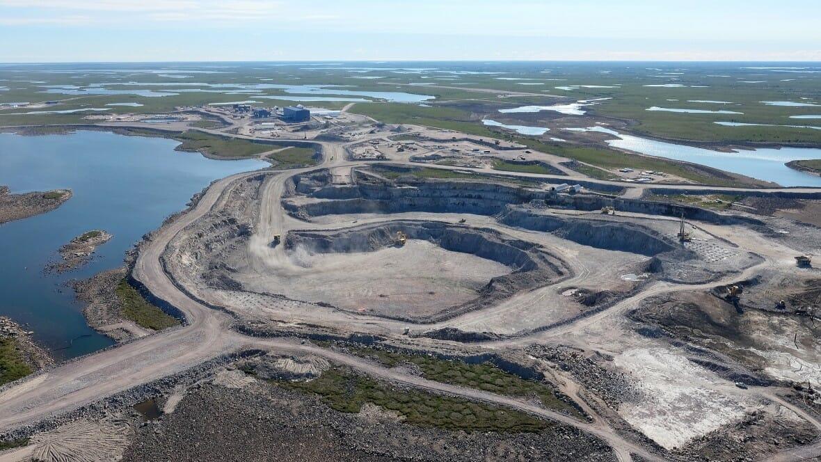 алмазный рудник «Гахчо Куэ» , Gahcho Kué в Канаде, алмазы, бриллианты