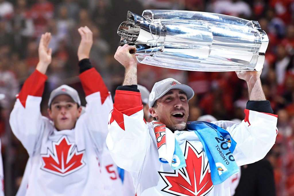 победа Канады на кубке мира 2016, фото