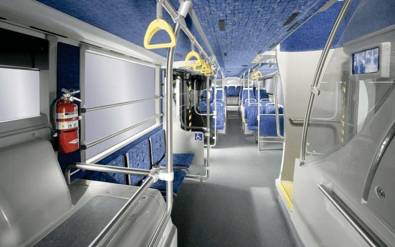 первый этаж двухэтажного автобуса, ванкувер