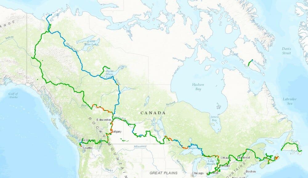 В Канаде появится самая длинная велосипедная тропа в мире