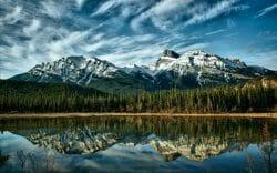 красота Канады, озера Канады, лучшие фотографии Канады, горы в Канаде