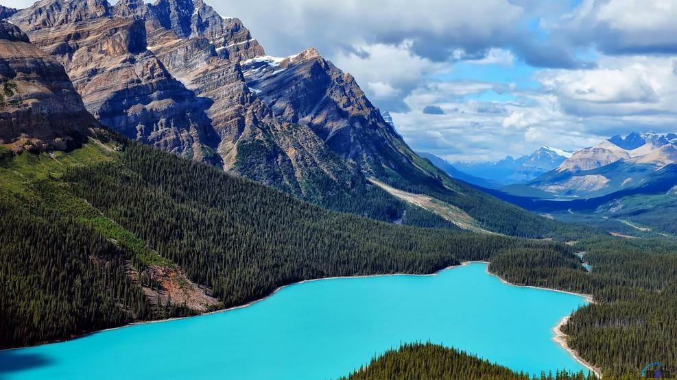 голубые озера Канады, 10 причин влюбиться в Канаду, канада ты прекрасна