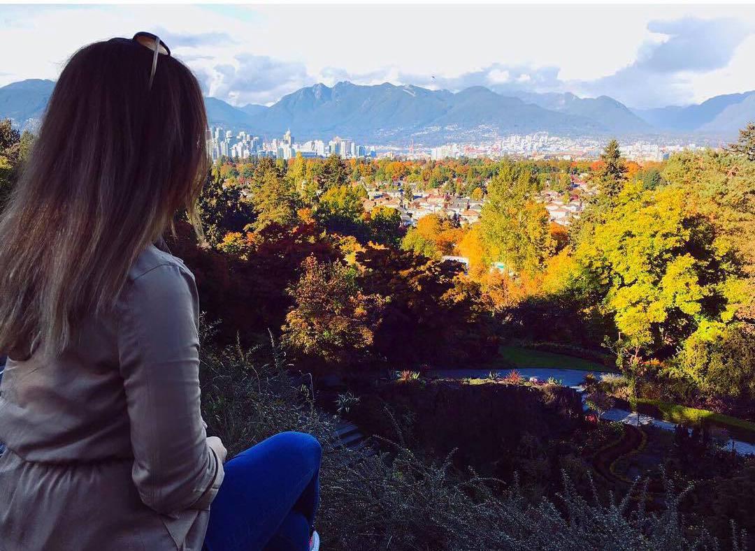 осень в Ванкувере