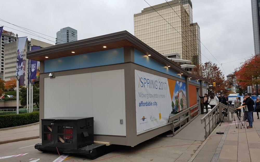 модульное жилье в Ванкувере/Канада. новости Канады