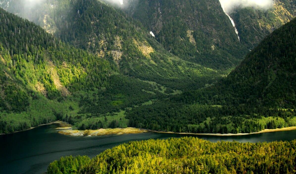 красота острова в Британской Колумбии(Канада), самые красивые острова мира, Хайда-Гуаи( (Haida Gwaii)
