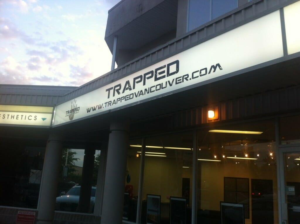 trapped, квест комната в Ванкувере, отдых в Ванкувере, развлечения