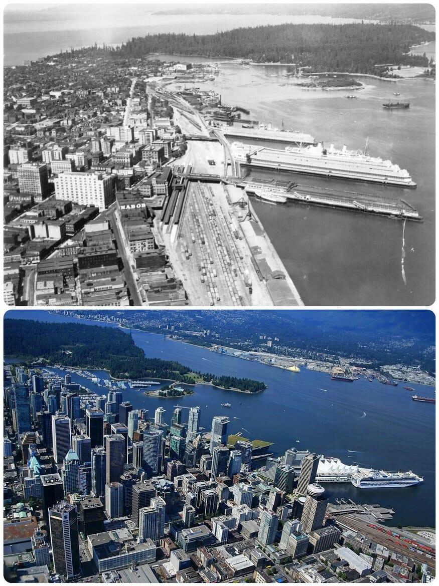 история Ванкувера, переезд Ванкувер, Ванкувер, фотографии Ванкувера