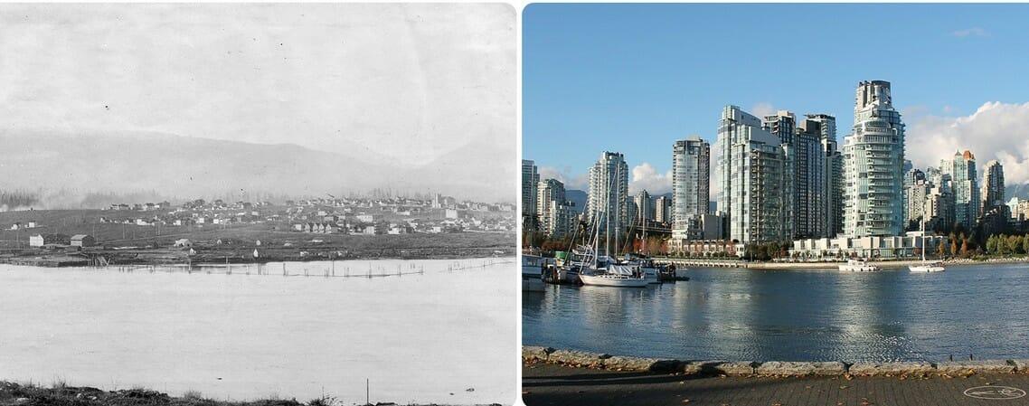 Ванкувер, история Ванкувера, город Ванкувер, переезд Ванкувер, фотографии Ванкувера