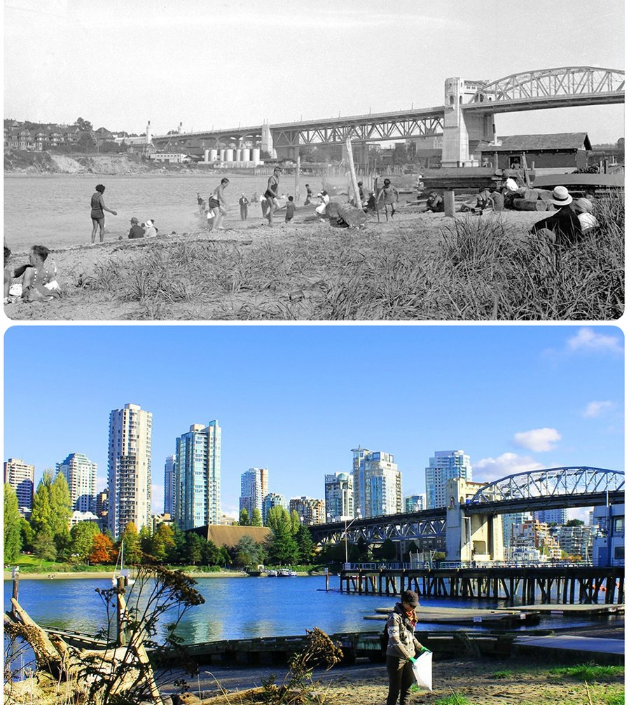 пляж Китсилано, переезд в Ванкувер, Ванкувер, история Ванкувера