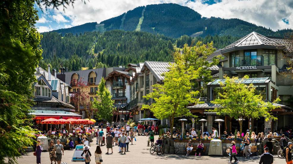 деревня Уистлер, горнолыжный курорт Уистлер, что посмотреть в Канаде, что обязательно посетить в Канаде