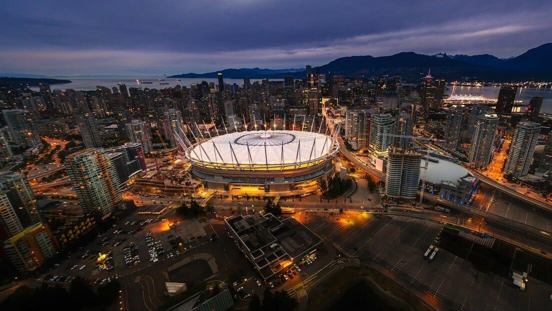 видео Ванкувер, Video Vancouver,Ванкувер вечером,Ванкувер днем и ночью