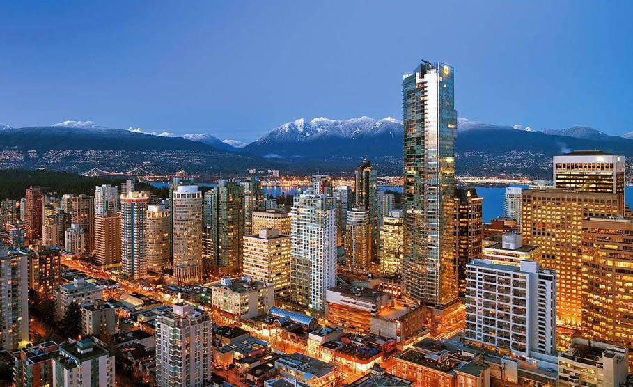 отели и гостиницы Канады, цена отель Канада,забронировать отель Канада, Ванкувер, Торонто отели
