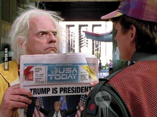 мемы Дональд Трамп президент, Клинтон, выборы США