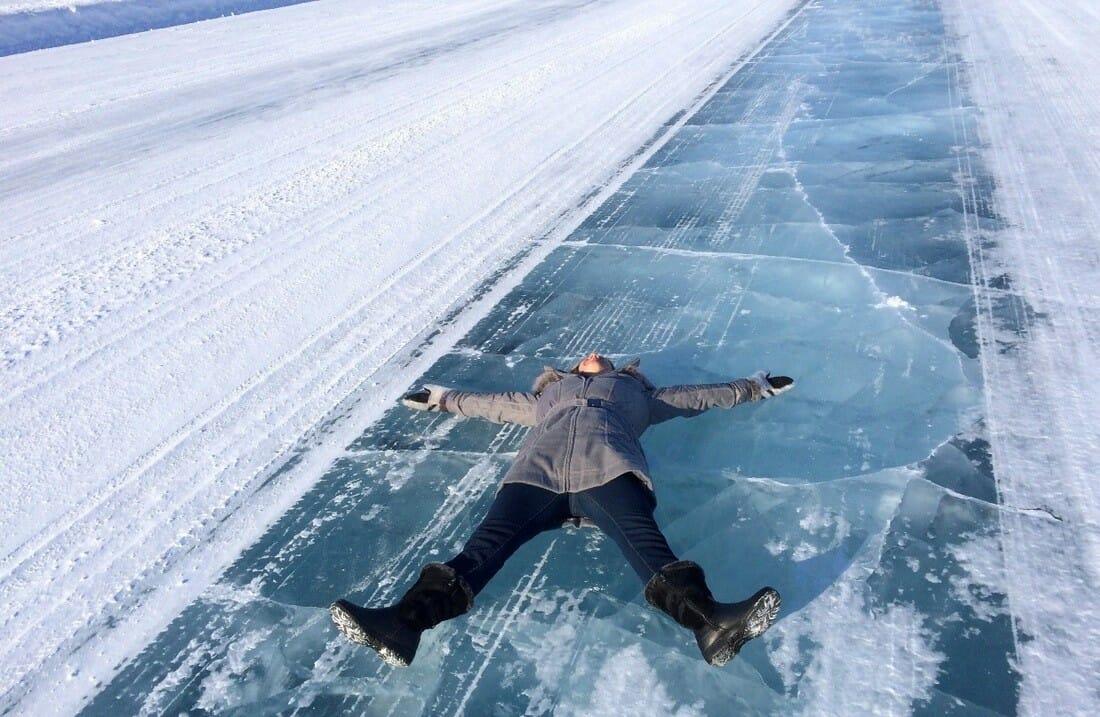 ледяная дорога, самые опасные дороги мира, самые красивые дороги мира