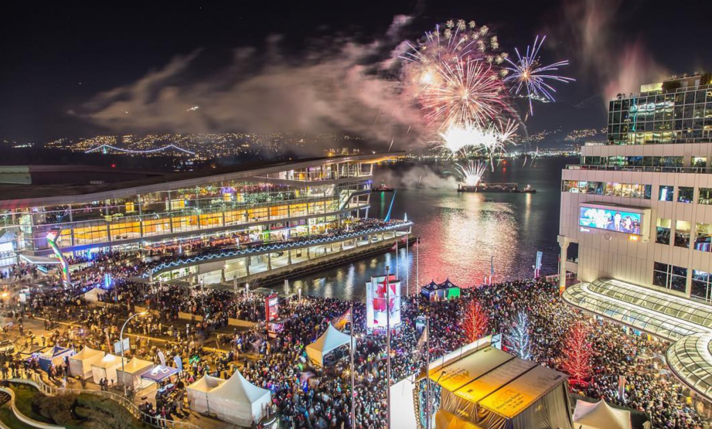 Новый год в Ванкувере, новости Канады, Ванкувер Канада, где отметить Новый год