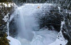 Helmcken Falls, водопад Хелмекен, водопады Канады, Британская Колумбия