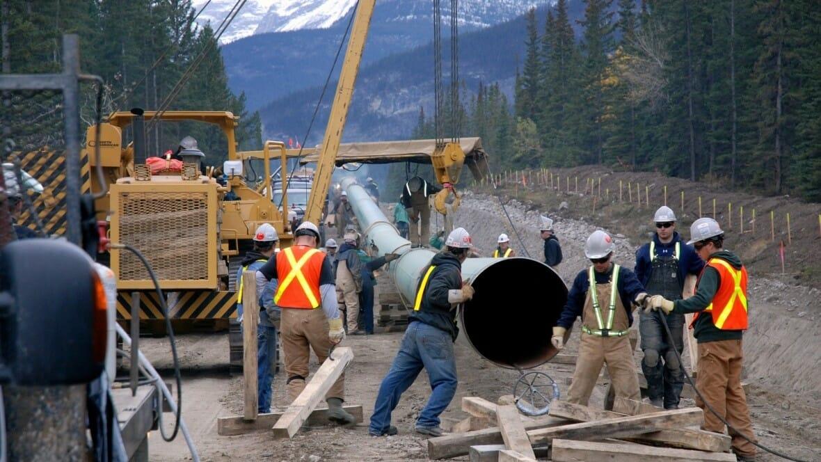Trans Mountain, нефтепровод Канада, Kinder Morgen