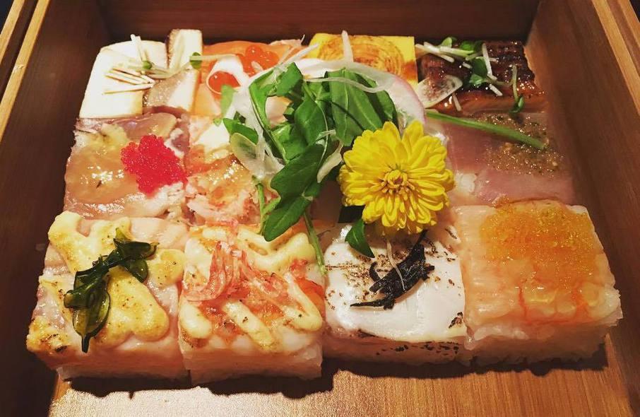 квадратные суши, Ванкувер Канада, суши в Ванкувере, необычные суши Ванкувер