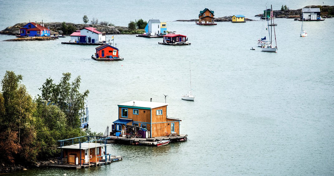 плавучие дома Канада, Северная Канада достопримечательности