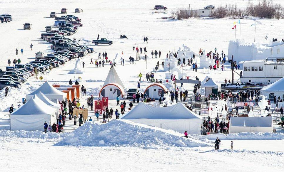Long John Jamboree , фестиваль в Северной Канаде, проводы зимы, северно-западные территории