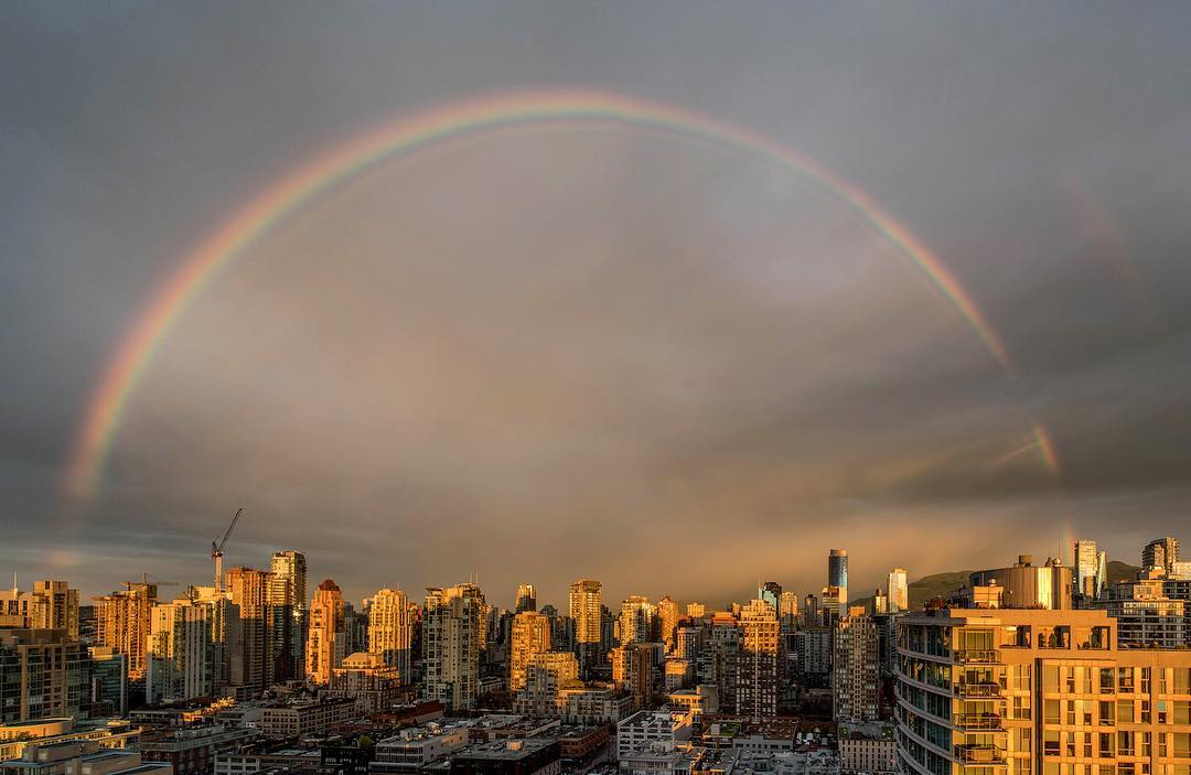 радуга Ванкувер, Ванкувер Канада, фото Ванкувера