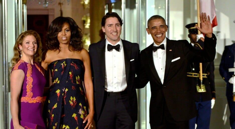 визит Трюдо в Вашингтон, Трюдо и Обама