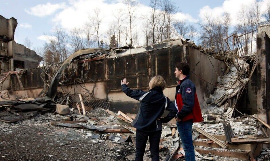 пожар в Канаде, крупный пожар, новости Канады
