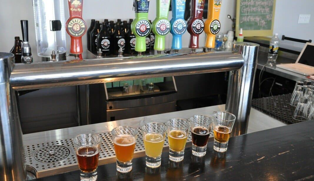 Parallel 49 Brewing Co., Ванкувер, пиво Ванкувер, пабы Ванкувера