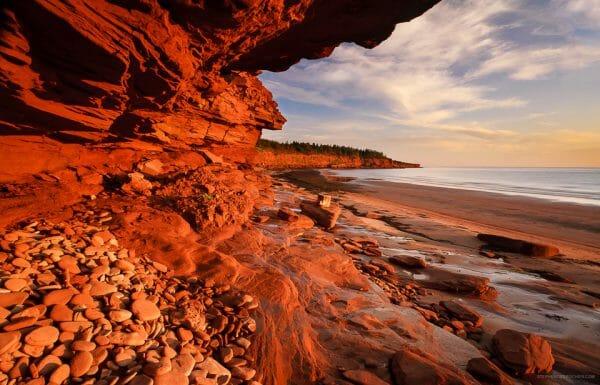 национальный парк Канады, национальный парк Острова Принца Эдуарда, туризм Канада