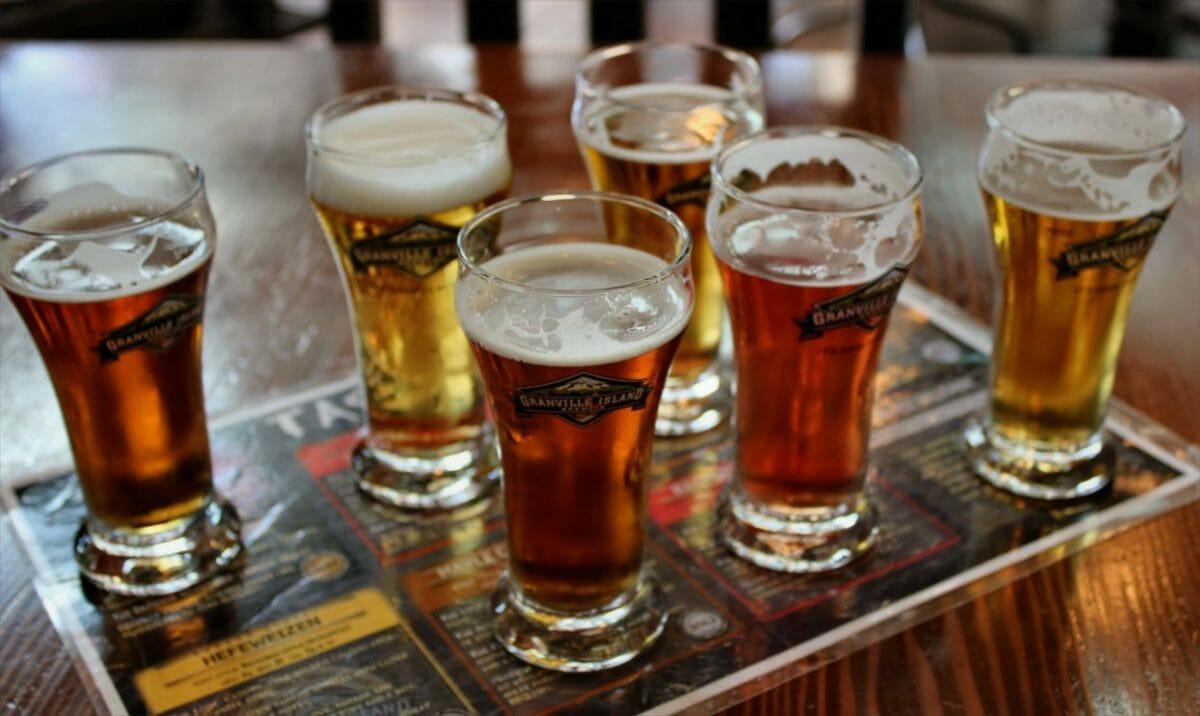 Granville Island Brewing, пиво в Ванкувере, вкусное пиво Ванкувер, пабы Ванкувера