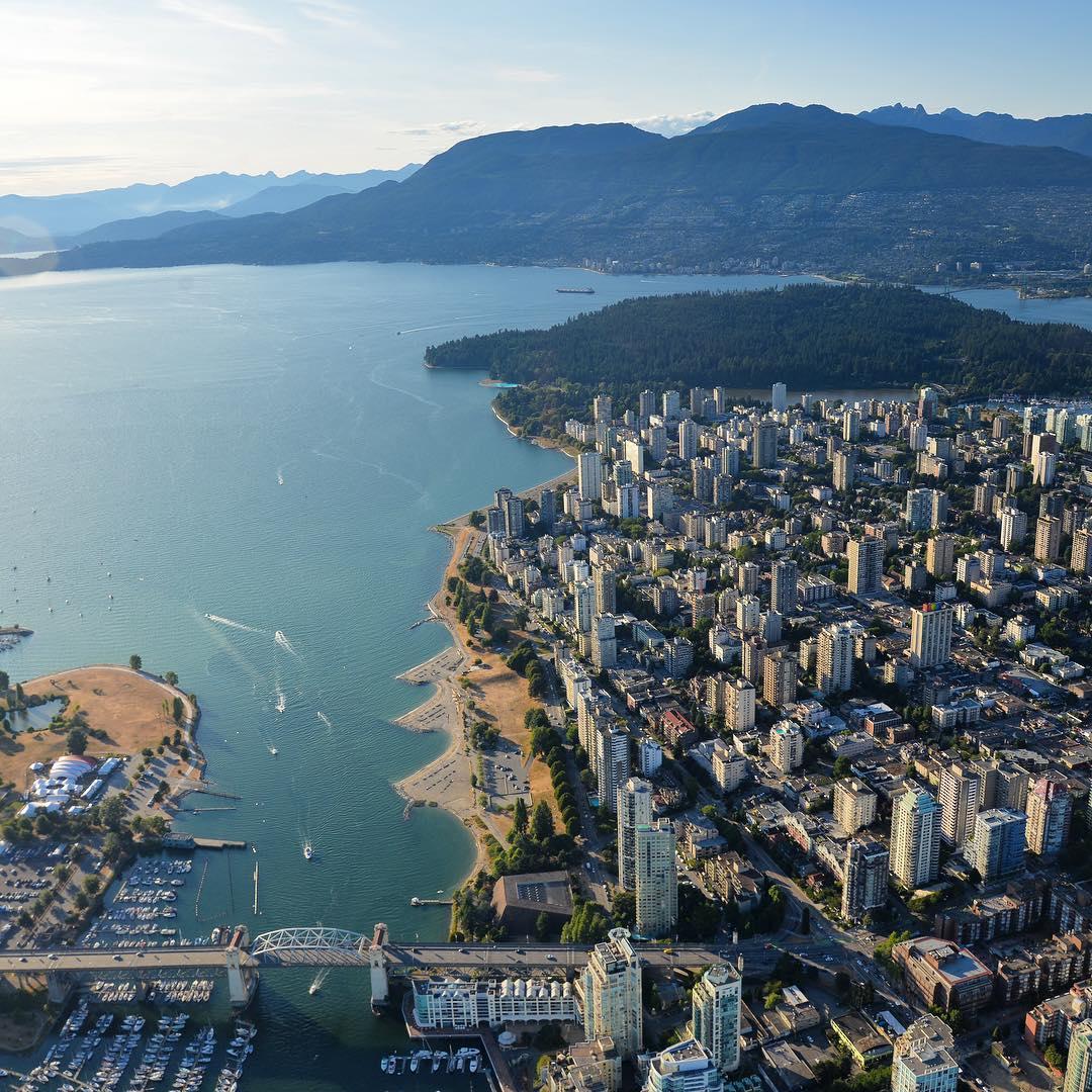 лучшие фотографии Ванкувера, Ванкувер Канада, Ванкувер время, фото Ванкувер