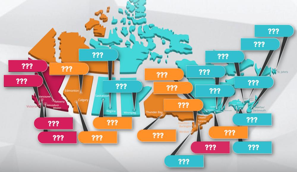 Аренда квартиры в Канаде, аренда жилья в Канаде, сколько стоит