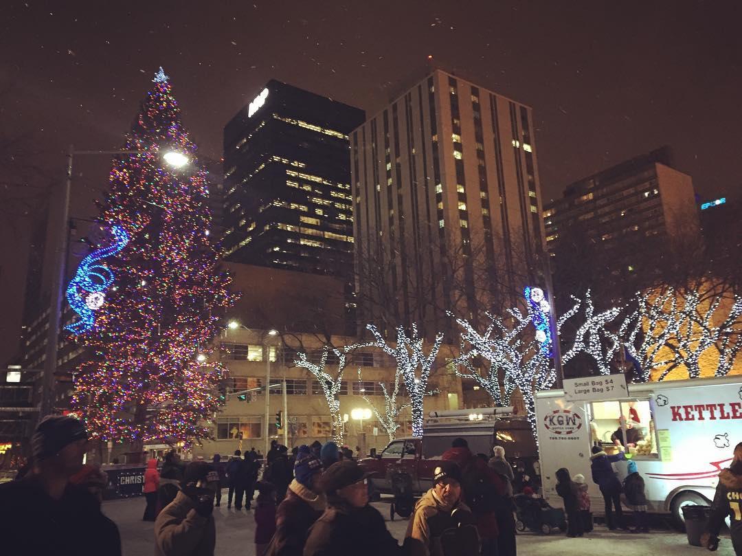 Эдмонтон, город в Канаде, Рождество Канада